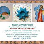 Atelier de Creaţie şi Pictură pentru Copii de 4-10 ani