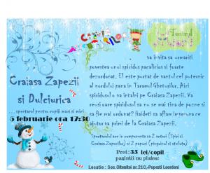 Spectacol de teatru pentru copii 2-8 ani