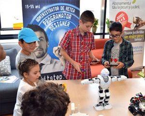 Școala de iarnă Robotica LEGO