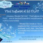Spectacol de teatru pentru copii VISUL inghetat al lui OLAF