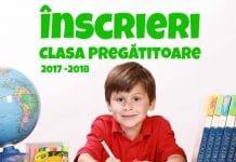 Înscrieri Clasa Pregătitoare 2017