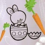 Cum Desenăm Iepuraşi de Paşte
