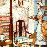 Prinţesa şi Bobul de Mazăre. Poveste de Hans Christian Andersen