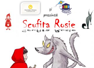 Scufita Rosie. Spectacol pentru copii de peste 2 ani la Teatropolis