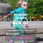 Evenimente pentru Copii în Weekend 25-26 Martie