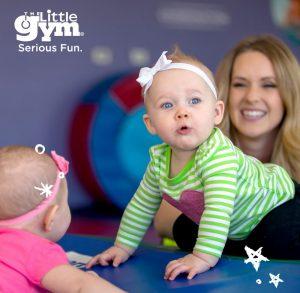 clasă demonstrativă părinte-copil (0-3 ani) la The Little Gym