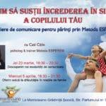 ateliere de comunicare pentru părinţi prin Metoda ESPERE®