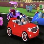 Mickey și piloții de curse