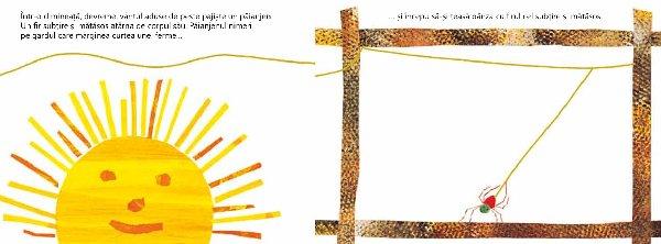 Editura Cartea Copiilor A Lansat O Noua Carte Păianjenul