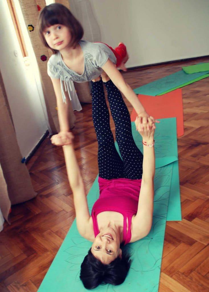 yoga familie