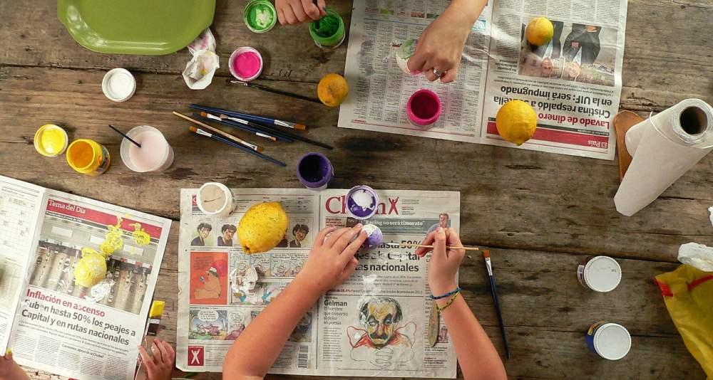 Activităţi în Casă cu Copilul craft