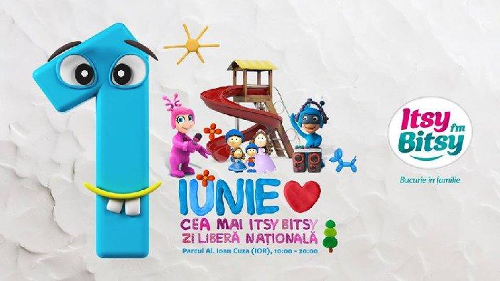 Hai la Cea Mai Itsy Bitsy Zi Libera Nationala! evenimente copii 1 iunie
