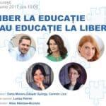 Liber la Educatie eveniment parinti
