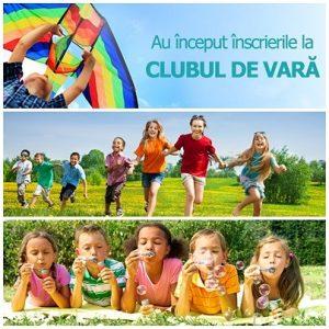 Scoala de vara 2017 Clubul Copiilor Isteti
