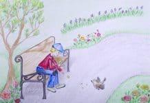 Băiatul și Vrăbiuța. Poveste de Zâna Lunia şi Zâna Azaleea 3
