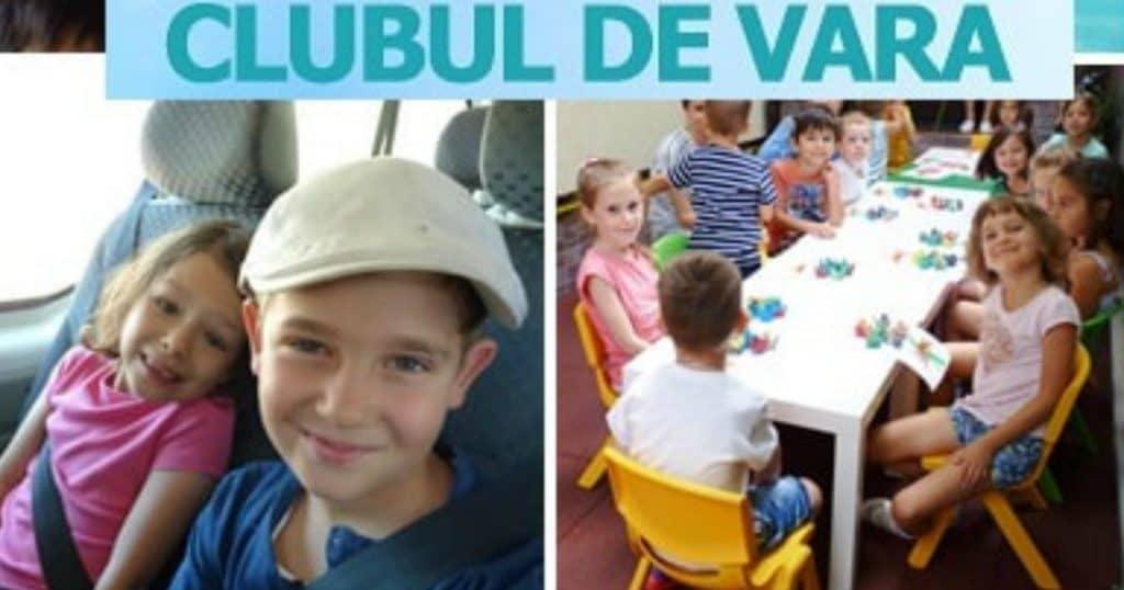 Ce Facem cu Copilul Vara Asta în București clubul de vara copii isteti