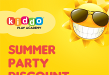 Summer Party Discount @ Kiddo Play Academy