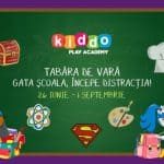 Tabara de vara Kiddo Play Academy summer camp