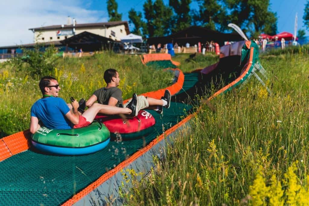 Fun Park Cluj. Parc de Aventură lângă Cluj-Napoca tubing