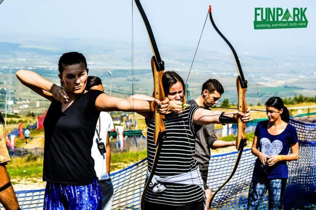 Fun Park Cluj. Parc de Aventură lângă Cluj-Napoca tir cu arcul