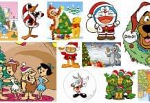 12 Desene de Craciun in Engleza cu Cele Mai Iubite Personaje Clasice de Animatie