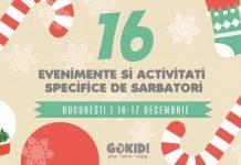 EVENIMENTE COPII BUCURESTI SARBATORI 16 -17 DECEMBRIE