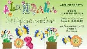 In asteptarea primaverii, Atelier Creativ pentru copii de 2-8 ani