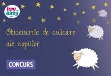 somnul copiilor Sondaj de opinie: Obiceiurile de culcare ale copilului tau