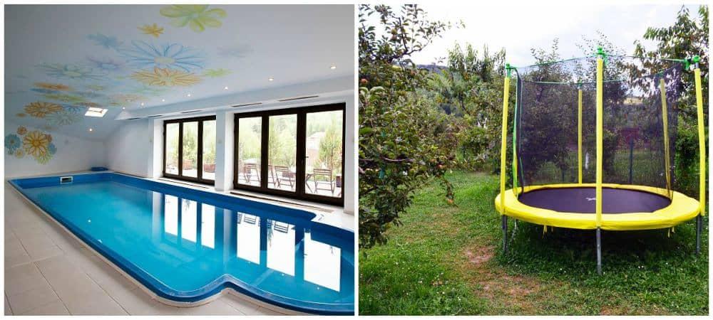 Excursii de weekend Bucuresti Ferma Club piscina