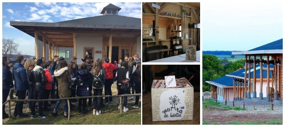 Excursii de weekend Bucuresti Moara de hartie Comana colaj