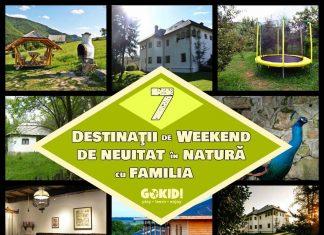 Excursii de weekend in natura cu familia gokid