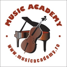 logo Music Academy: cursuri de pian, chitara si canto pentru copii