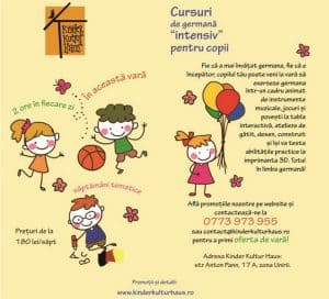 scoala de vara cursuri de germana intensiv pentru copii