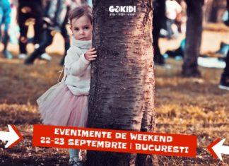 15 Cele Mai Interesante Evenimente pentru Copii Parinti Weekend 22-23 Septembrie gokid