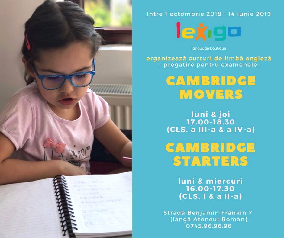 Cambridge Lexigo Language Boutique