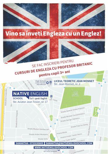 Invata engleza la Native English School 2