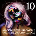 10 Machiaje de Halloween care Te Lasa cu Gura Cascata gokid