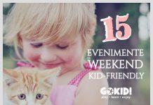 15 Evenimente de Weekend Kid-Friendly la Bucuresti 3-4 Noiembrie gokid