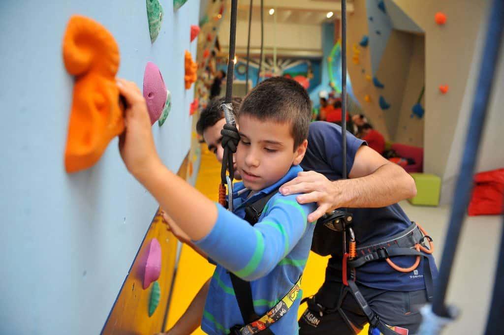 Climb Again escalada copil nevazator