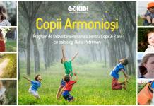 Copii Armoniosi. Program de Dezvoltare Personala pentru Copii 3-7 Anigokid 3 noiembrie
