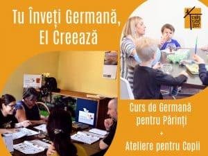Curs de Germana pentru Parinti si Ateliere pentru Copii gokid