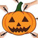 Desenam de Halloween! 10 Desene Simple pentru Copii +5 Ani
