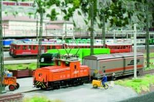 trenuri knuffingen-Miniatur Wonderland gara