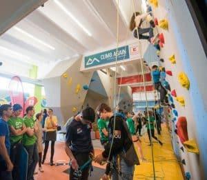 Primul Centru de escalada si sport pentru copiii nevazatori si cu nevoi speciale_CLIMB AGAIN si KAufland