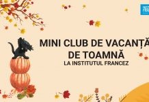 mini clubul de vacanta de toamna institutul francez