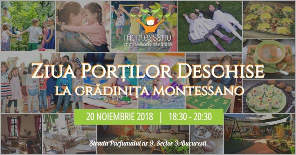 Ziua Portilor Deschise la Gradinita Montessano 20 Noiembrie 2018 gokid fb