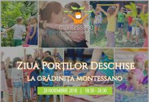 Ziua Portilor Deschise la Gradinita Montessano 20 Noiembrie 2018 gokid r