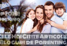 Articole pe Blogurile de Parenting Romania 2018 gokid fb