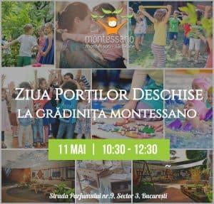Ziua Portilor Deschise la Gradinita Montessano, 11 mai 2019 gokid