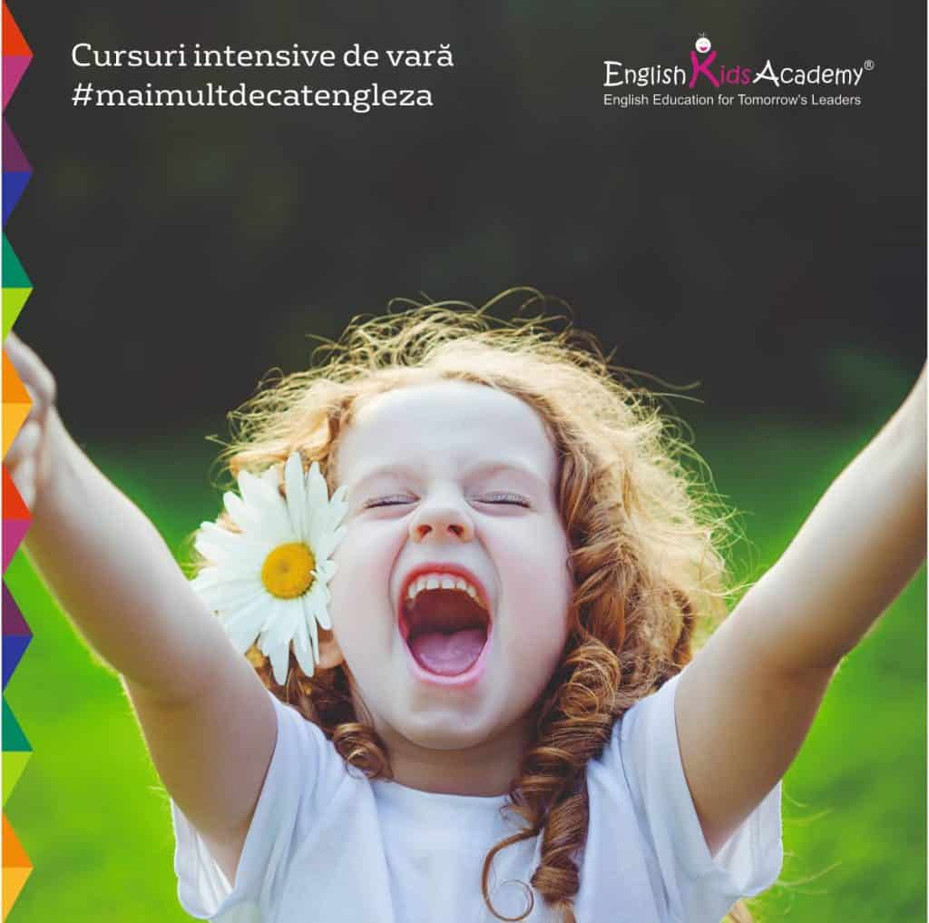 Cursuri intensive de vara la English Kids Academy si English Teens Academy gokid